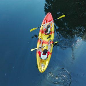 kayak y piraguas en monfrague