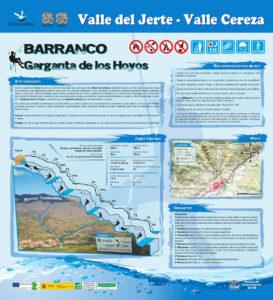 Croquis Barranco los Hoyos