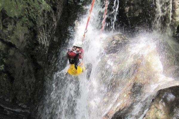 descenso de barrancos valle del jerte