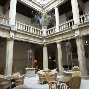 hotel palacio Carvajal Girón Plasencia